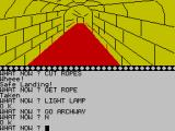 Arrow of Death Part II ZX Spectrum Long corridor