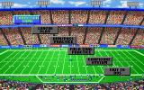 Joe Montana Football DOS Main Menu (VGA)