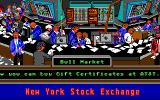 Stock Market: The Game DOS Reading the news at the Bull Market