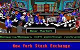 Stock Market: The Game DOS Reading the news at the Bear Market