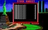 Stock Market: The Game DOS Top 12 Score Board