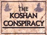 The Koshan Conspiracy DOS Title screen (CD version)