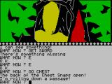 The Wizard of Akyrz ZX Spectrum In the forest