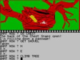 The Wizard of Akyrz ZX Spectrum Careful you don't fall out and break your wrists
