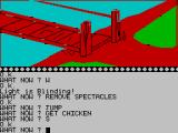 The Wizard of Akyrz ZX Spectrum Mmmm, chicken