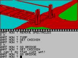 The Wizard of Akyrz ZX Spectrum Looks quite rickety