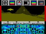 Koronis Rift ZX Spectrum Watch out for this guardian saucer!