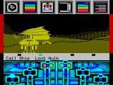 Koronis Rift ZX Spectrum Looting a hulk