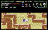 Warlock: The Avenger Commodore 64 Trying to find more keys in this labyrinth