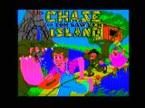 The Chase on Tom Sawyer's Island Apple II Title screen