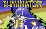 Eliminator Commodore 64 Loading screen