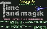 Time and Magik: The Trilogy Commodore 64 Title screen and credits (disk)