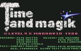 Time and Magik: The Trilogy Commodore 64 Title screen and credits #2 (disk)