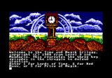 Time and Magik: The Trilogy Amstrad CPC Chapter selection