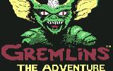 Gremlins: The Adventure Commodore 64 Title screen