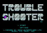 Trouble Shooter Genesis Title screen (US)