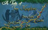 A Tale of Two Kingdoms Windows Title screen. Quite elvish I must say.