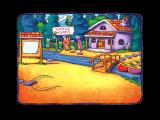 Huggly Saves the Turtles: Thinking Adventures Windows A big wind blows in, carrying off the turtles