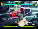 Marvel Super Heroes vs. Street Fighter PlayStation While Omega Red attempts to connect his non-stop tentacle moves, Wolverine's about to strike back...