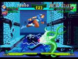 Marvel Super Heroes vs. Street Fighter PlayStation To successfully avoid Shuma-Gorath's eye-based attack, Chun-Li performs her Kuuchuu Dash technique.