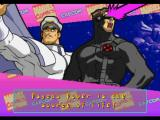 Marvel Super Heroes vs. Street Fighter PlayStation Post-match screen.