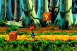 Crash Bandicoot: The Huge Adventure Game Boy Advance Crash in Action!