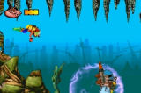 Crash Bandicoot: The Huge Adventure Game Boy Advance First Boss- Underwater