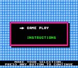 Fisher-Price I Can Remember NES Main menu
