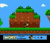 Mickey's Safari In Letterland NES Mickey is not above crawling