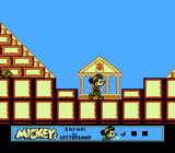 Mickey's Safari In Letterland NES In the pyramid level