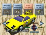 Ridge Racer PlayStation Car selection