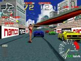 Ridge Racer PlayStation Starting the race.