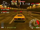 Ridge Racer PlayStation Cars have different attributes - this one excels at speed but has a bad handling.