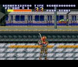 Sengoku SNES You can change into other characters.