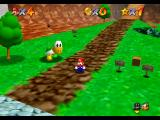 Super Mario 64 Nintendo 64 Before racing Koopa the Quick