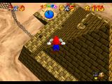 Super Mario 64 Nintendo 64 The pyramid from above