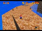 Super Mario 64 Nintendo 64 Mario in Tall-Tall Mountain