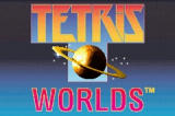 Tetris Worlds Game Boy Advance Title Screen