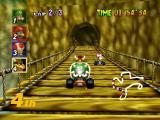 Mario Kart 64 Nintendo 64 Bowser in D.K.'s Jungle Parkway