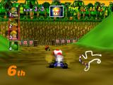 Mario Kart 64 Nintendo 64 Toad in D.K.'s Jungle Parkway