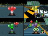Mario Kart 64 Nintendo 64 4 player Battle mode in Skyscraper