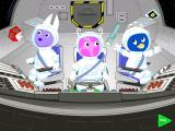 The Backyardigans: Mission to Mars Windows Things float around in zero gravity...