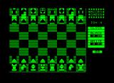 Microchess Commodore PET/CBM Board starting position