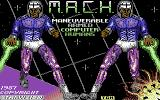 M.A.C.H. - Maneuverable Armed Computer Humans Commodore 64 Title screen