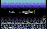 Sly Spy: Secret Agent Commodore 64 A large shark