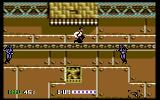 Sly Spy: Secret Agent Commodore 64 On a conveyor belt