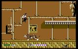 Sly Spy: Secret Agent Commodore 64 Boss-fight against a tiger