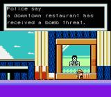 Disney's Chip 'N Dale: Rescue Rangers 2 NES The newscaster tells of a bomb threat