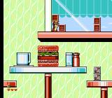 Disney's Chip 'N Dale: Rescue Rangers 2 NES At the restaurant
