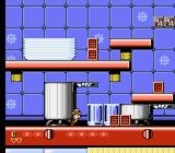Disney's Chip 'N Dale: Rescue Rangers 2 NES In the kitchen